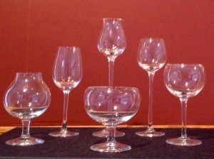 Moser stemware Prague Czech Republic